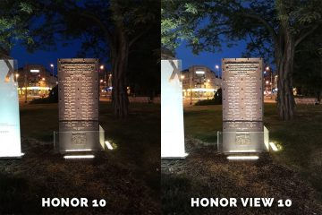 Honor 10 vs. Honor View 10 jaky fotoaparat je lepsi