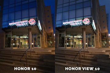 Honor 10 vs. Honor View 10 nocni fotografie testovani dopravni podnik