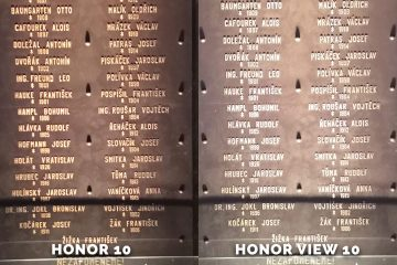 Honor 10 vs. Honor View 10 srovnani fotomobilu