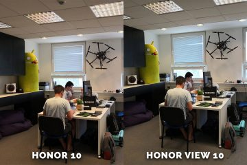 Honor 10 vs. Honor View redakce test fotoaparatu