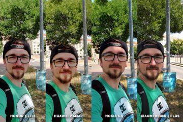 Huawei vs Honor vs Xiaomi vs Nokia fototest selfie