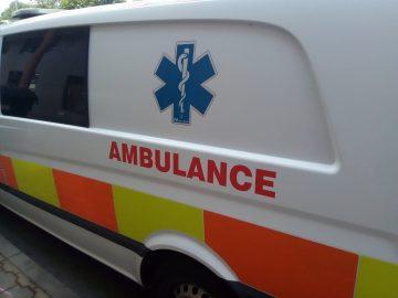 Nokia 1 fotografie ambulance