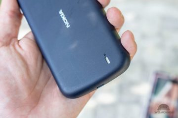 Nokia 1 hlasity reproduktor