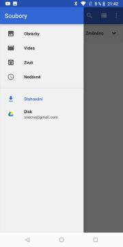 Nokia 7 Plus file manager