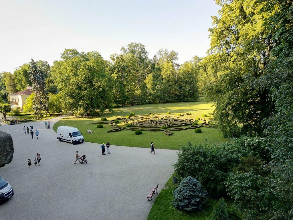Nokia 7 plus fotografie park