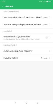 Xiaomi Redmi Note 5 baterie 3