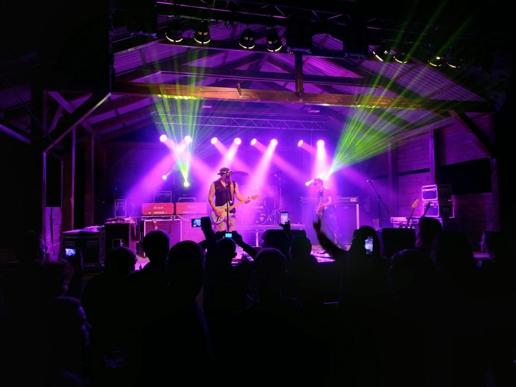 Xiaomi Redmi Note 5 foto koncert