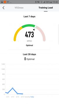 aplikace xiaomi amazfit stratos vo2max