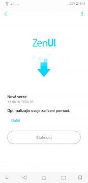 asus zenfone 5 aktualizace