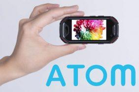 miniaturni odolny telefon atom