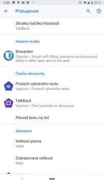 pristupnost a usnadneni android