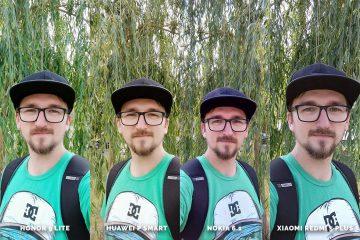 selfie test Honor 9 Lite vs Huawei P Smart vs Nokia 6.1 vs Xiaomi Redmi 5 Plus