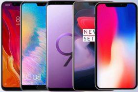 velke srovnani vykonu apple iphone x oneplus 6 xiaomi mi 8 samsung galaxy s9 huawei p20 pro
