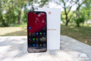 Huawei P20 lite čelní strana