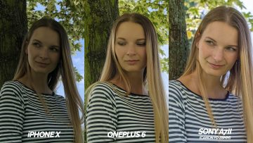 detail modelky fototest oneplus 6 vs iphone X