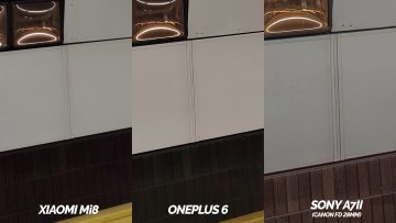 metro detail zrcadlovka vs xiaomi mi 8 vs oneplus 6 porovnani