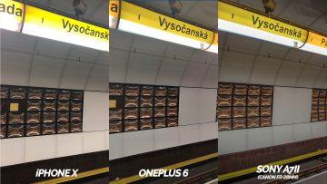 metro fotografie vysočanská - oneplus 6 vs apple iphone X