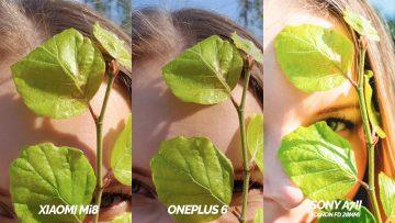 oneplus 6 vs. xiaomi mi 8 fotografovani test zrcadlovka