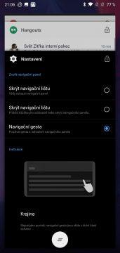 posledni aplikace oneplus 6 oxygenOS nadstavba