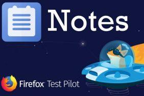 poznamky notes by firefox