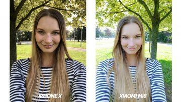 test selfie kamery apple iphone x vs xiaomi mi 8