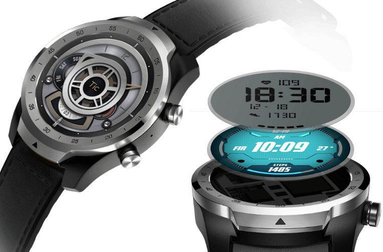 ticwatch pro chytre hodinky wear os