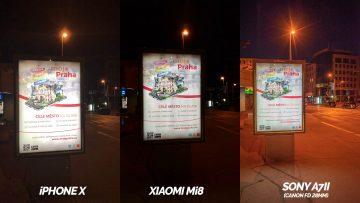 xiaomi mi 8 vs apple iphone x nocni fotografie test