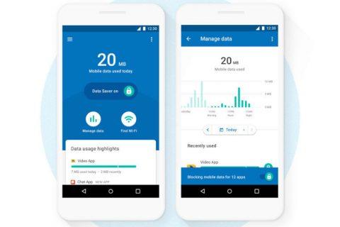 aplikace google datally usetri data