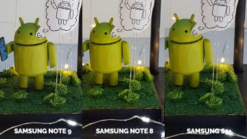 fotografie android samsung galaxy note 9 vs samsung galaxy note 8 vs samsung galaxy S9