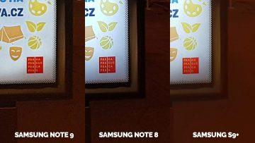 nocni fotografie detail samsung telefony