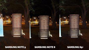 pamatnik text noc fotky samsung galaxy note 9