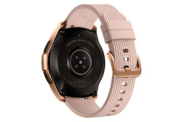 senzor chytrych hodinek samsung galaxy watch