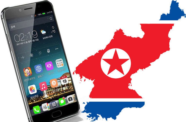 smartphony v kldr severni korea
