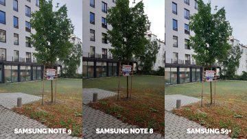 strom v ulici fototest samsung galaxy note 9 vs note 87 vs galaxy s9