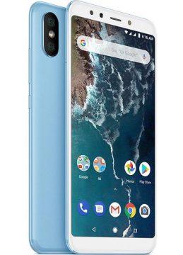 xiaomi mi a2 blue modra barva