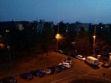 xiaomi mi a2 nocni fotografie
