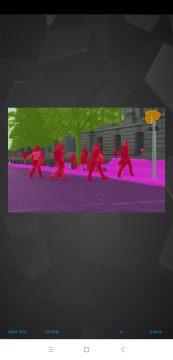 Sedmý test AI Benchmark - segmentace obrazu
