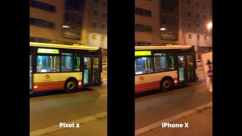 Apple iPhone X vs Google Pixel 2 - Test kvality videa - SvetAndroida.cz