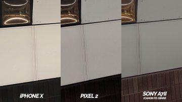 detail metro fototestovani pixel 2 vs iphone X