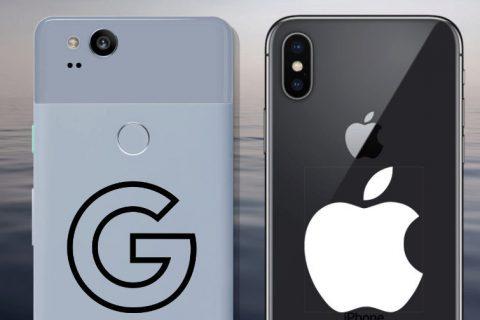 fototest apple iphone x vs google pixel 2