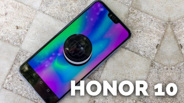Honor 10 - první pohled