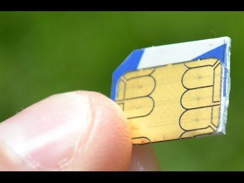 Jak vytvořit MicroSIM a NanoSIM z klasické SIM karty