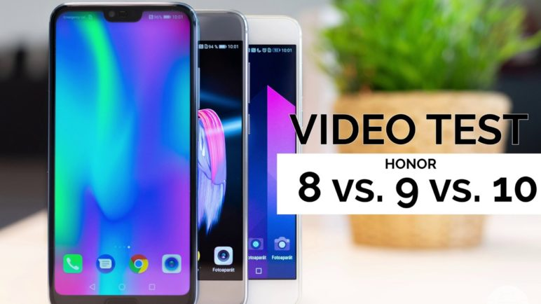 Který Honor telefon natáčí nejlepší videa? Test Honor 8 vs Honor 9 vs Honor 10 - SvetAndroida.cz