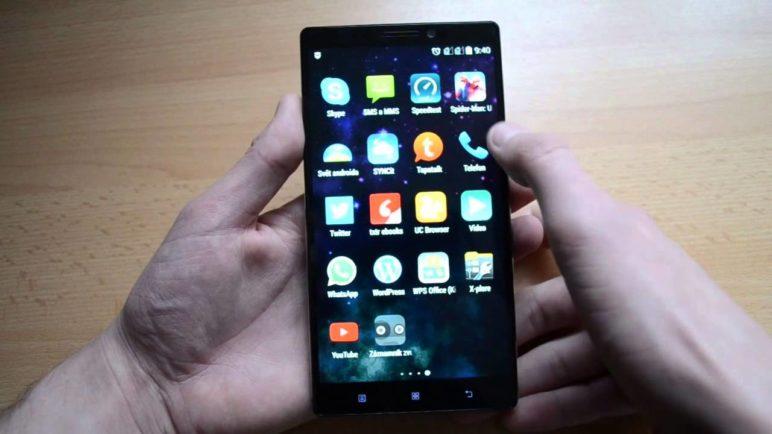 Lenovo Vibe Z2 Pro - čistý Android