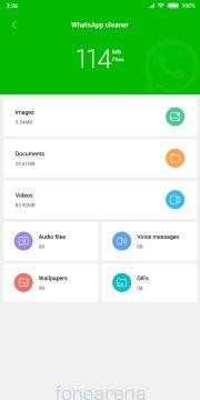 miui optimalizace whatsapp