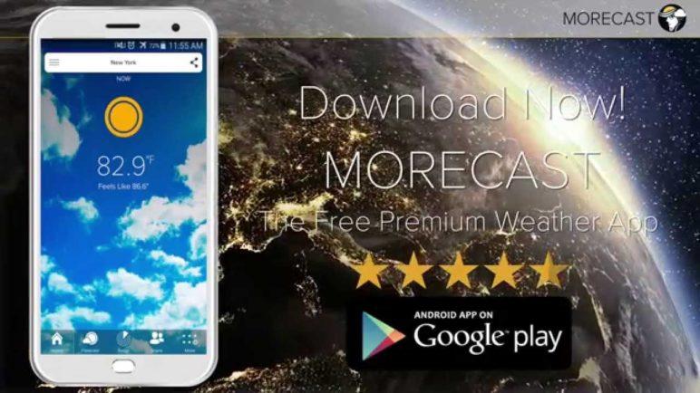 MORECAST - Free Premium Weather App