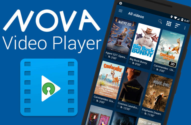 nova player android