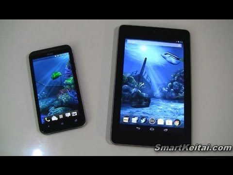 Ocean HD Live Wallpaper for Android - Review (Nexus 7, HTC EVO LTE)