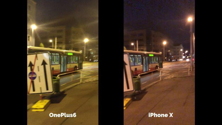 OnePlus 6 vs Apple iPhone X - Test kvality videa - SvetAndroida.cz