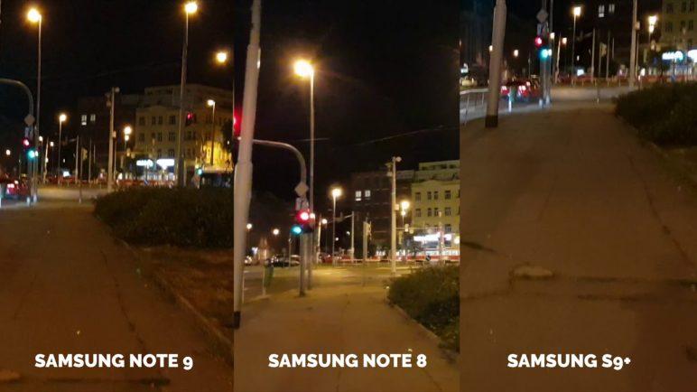Samsung Galaxy Note 9 vs. Galaxy Note 8 vs. Galaxy S9+ - Test kvality videa - SvetAndroida.cz